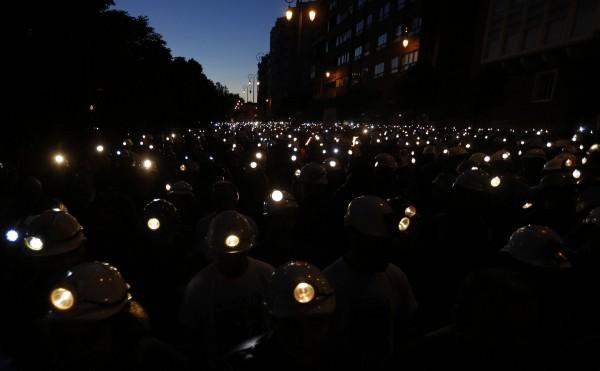 Asturias - ΙΣΠΑΝΙΑ : Γράμμα απο έναν ανθρακωρύχο ,(22/6/2012 )